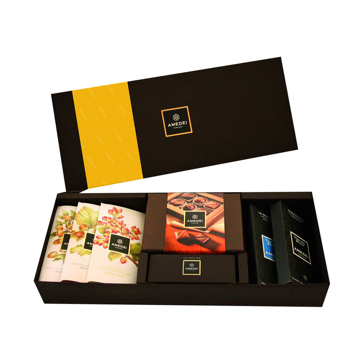 Custom Chocolate Boxes | Chocolate Box Packaging | Deluxe Boxes