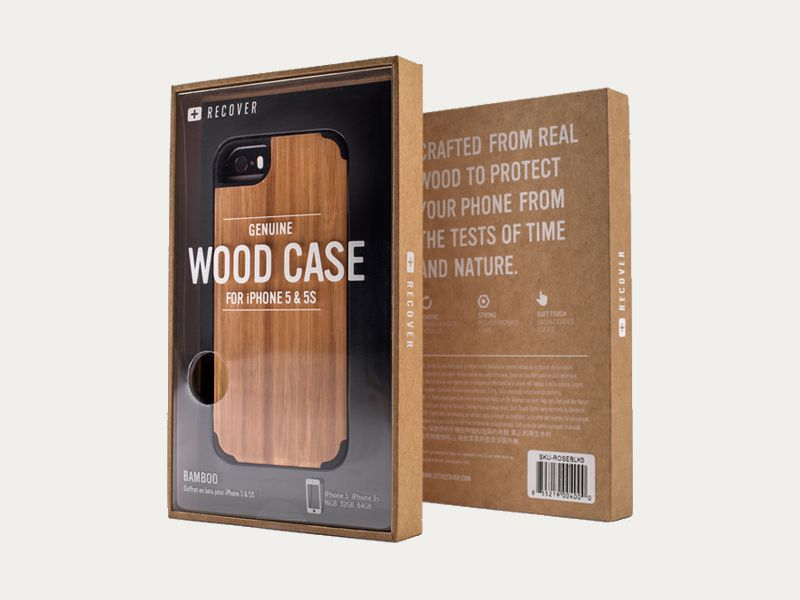 Mobile case packaging box