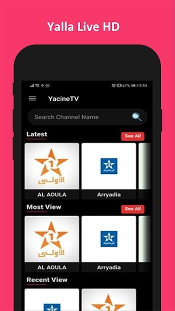 yalla live tv apk download